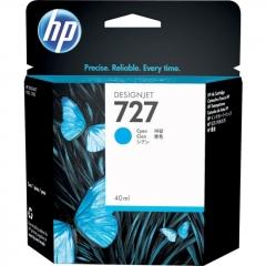 HP 727 300-ml 原裝墨盒 F9J76A Cyan