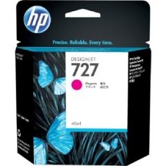 HP 727 300-ml 原裝墨盒 F9J77A Magenta