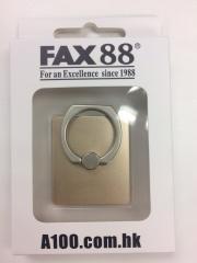 FAX88手機指環支架 360度旋囀 iring 土豪金