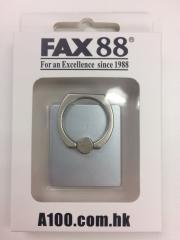 FAX88手機指環支架 360度旋囀 iring 氣質銀