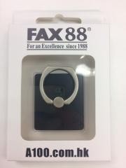 FAX88手機指環支架 360度旋囀 iring 炫酷黑