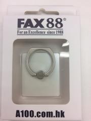 FAX88手機指環支架 360度旋囀 iring 雪里白