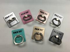 FAX88手機指環支架 360度旋囀 iring 100起絲印公司Logo
