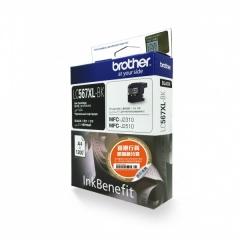 BROTHER LC567XLBK 黑色墨盒