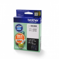 BROTHER LC663 原裝墨盒 LC663 Black