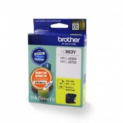 BROTHER LC663 原裝墨盒 LC663 Yellow