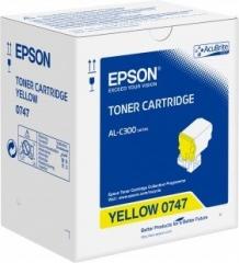 EPSON  AL-C300D/DN 原裝碳粉 C13S050747 Yellow