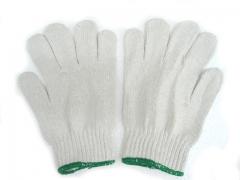 勞工手套(打裝-12對) 綠邊