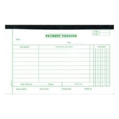 英文傳票 (打裝-12本) 1781A Payment Vouche
