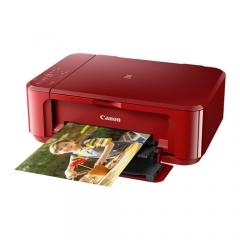 Canon PIXMA MG 3670 (3合1) (Wifi) (雙面打印) 噴墨打印機 紅色
