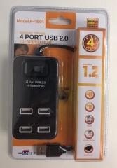 4 Ports USB 分插 P-1601 USB2.0