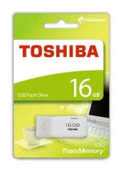 Toshiba 16.0GB USB 手指 (THN-U202W0160A4)USB 2.0