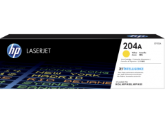 HP CF512A (204A)(原裝)(900pages)Laser Toner Yellow