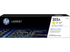 HP CF502A (202A)(原裝)(1.3K)Laser Toner Yellow