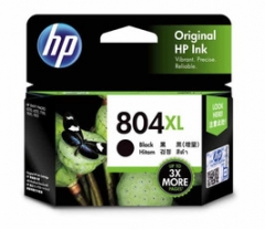 HP T6N12AA (804XL)(原裝)(600pages) Ink Black