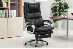FAX88 辦公椅/老闆椅/170度可躺/按摩 黑色按摩可躺+擱腳
