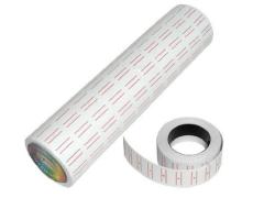 銀碼機 Label (10卷裝) 雙紅線