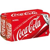 可口可樂汽水 8x330ML
