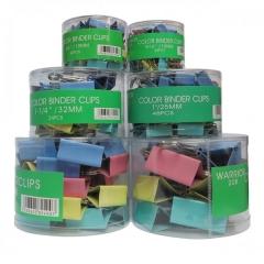 長尾夾 (顏色) Binder Clip - 多款尺寸可供選擇 50mm (No.208) 12個裝