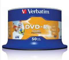 Verbatim AZO DVD-R #43533 (50 / cake box)