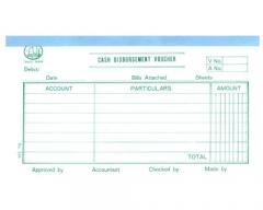 中文傳票 多個款式可供選擇 316Cash Disbursement