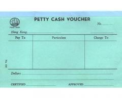 中文傳票 多個款式可供選擇 319 (Petty Cash)