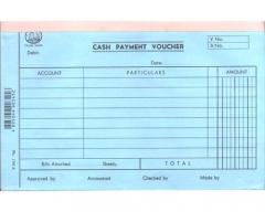 英文傳票 多個款式可供選擇 (打裝-12本) 1767A (Cash Payment)