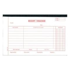 英文傳票 多個款式可供選擇 (打裝-12本) 1780A Receipt Vouche