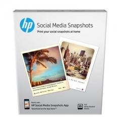 HP (K6B83A) Social Media Snapshots  Photo Paper