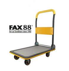 平板手推車 黄色 48x72cm