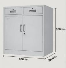 鋼櫃 多功能矮櫃 2斗雙開