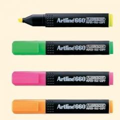 Artline EK-660 螢光筆(原盒12支)