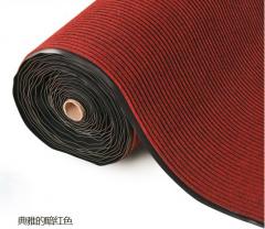 BLUE STAR 防滑雙坑紋地毯 深紅色  2米濶 每米
