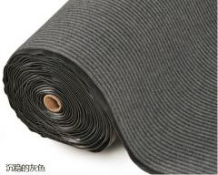 BLUE STAR 防滑雙坑紋地毯 深灰色  2米濶 每米