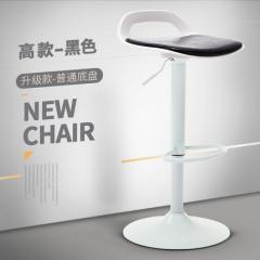 歐式吧椅 BH3841 高款白座黑色