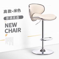 歐式吧椅 BH8168 高款米白色