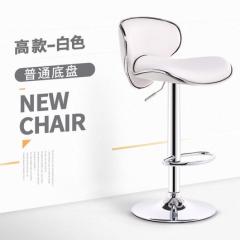 FAX88 歐式吧椅 BH8168 高款白色