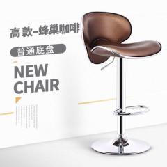 FAX88 歐式吧椅 BH8168 高款啡色