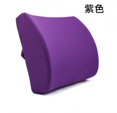 A100 椅腰墊 #114653-6 腰靠背墊 腰部靠墊 辦公室椅子腰靠 護腰墊 腰枕 紫色