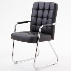 FAX88 辦公椅/吧椅 帶扶手 PU黑色弓型