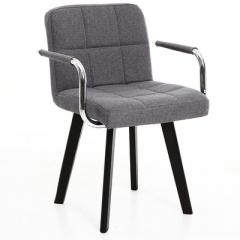 A100 實木辦公椅/電腦椅/書房椅/會議室椅 灰色