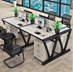 FAX88 EW808B 新潮辦公桌/推櫃組合 單人位(不含櫃)