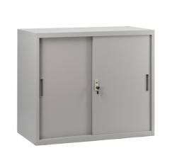 移門鋼櫃 多功能矮櫃 鋼櫃 文件櫃 組合櫃 H750xW800xD400mm