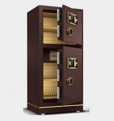 A100 指紋安全夾萬/保險箱 1米香檳啡