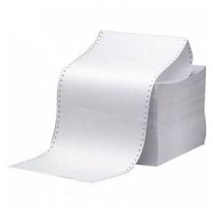 9.5吋 x 5.5吋 電腦紙 1層白色