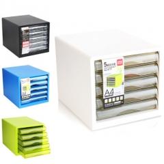 A100  A9775 A9777桌面文件櫃 5層白色 A9777