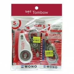Tombow   XC (CR5+CX5) 3芯1機改錯機套裝 (5mm)