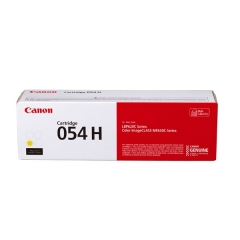 Canon Cartridge 054H 原裝碳粉 054H Yellow 2.3K