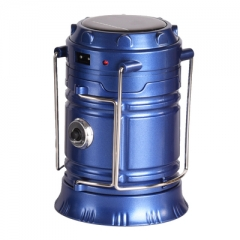 A100 太陽能充電應急燈 藍色標配 #115859