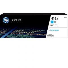 HP 416X 原裝高容量碳粉 W2041X CYAN(6K)